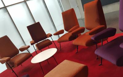 königherz Polsterei: Projekt mit Architekt Peter Zumthor - Kunsthaus Bregenz